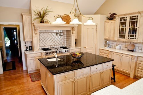 island kitchen decor